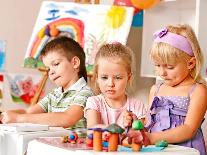 Творческая мастерская для детей от 2 лет